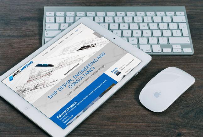 Responsive nettsider tilpassa mobil og ipad
